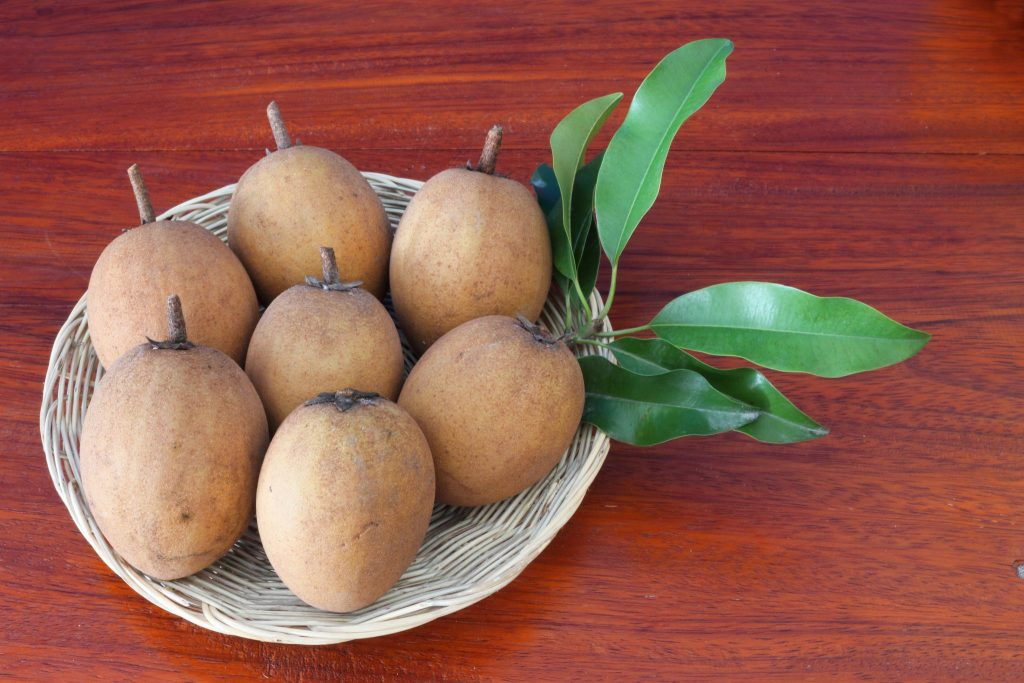 Sapodilla in a bowl